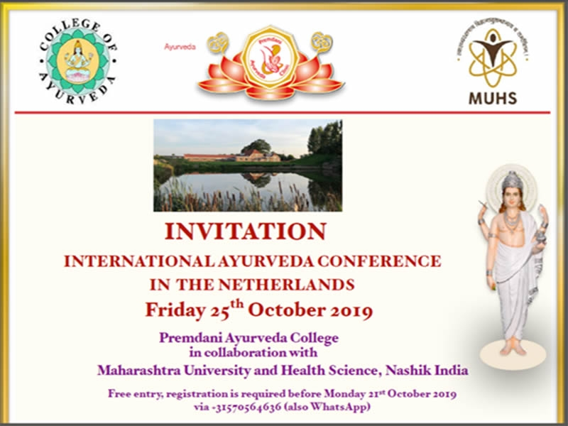 International Ayurveda Conference In The Netherlands